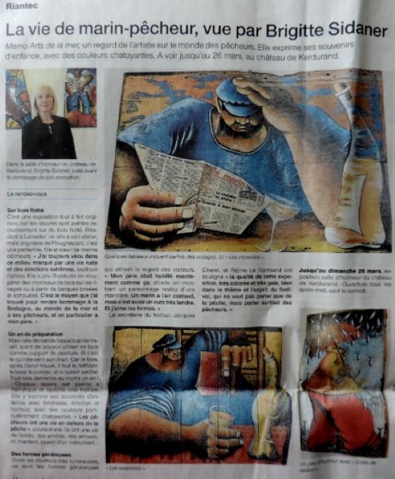 Expo chateau de kerdurand a riantec 2017